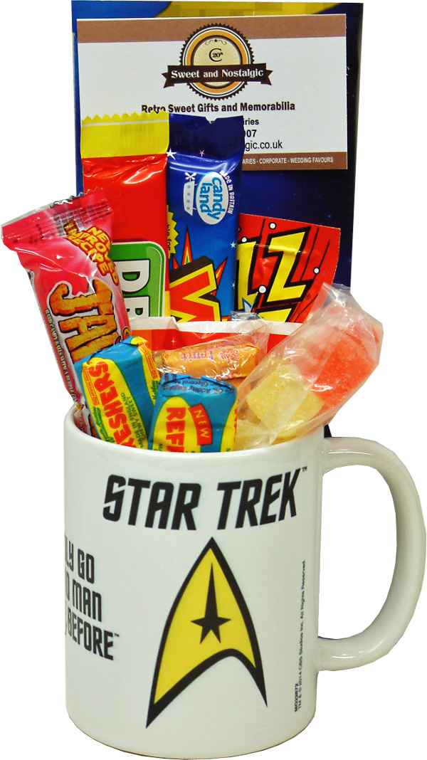 Star Trek Badge Mug With Without A Space Travelling